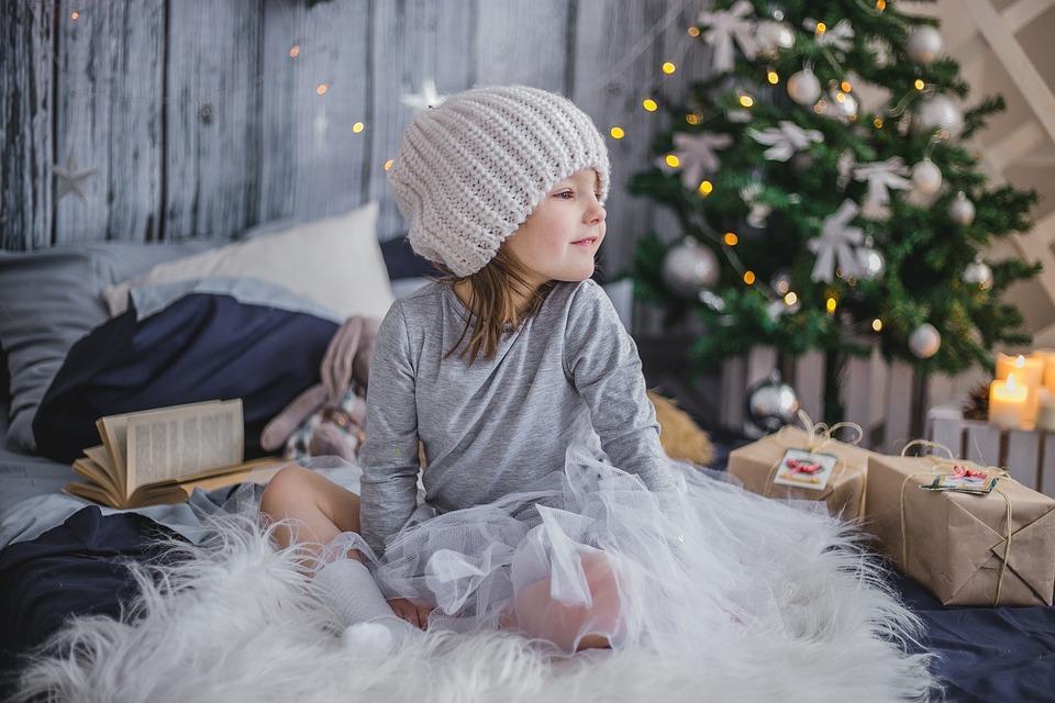 kinder weihnachtskarte