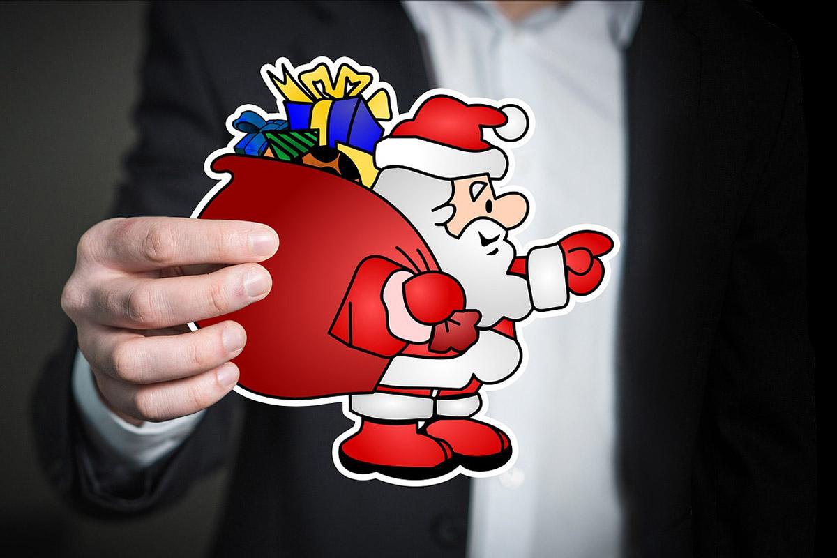 Weihnachtskarte geschäftlich