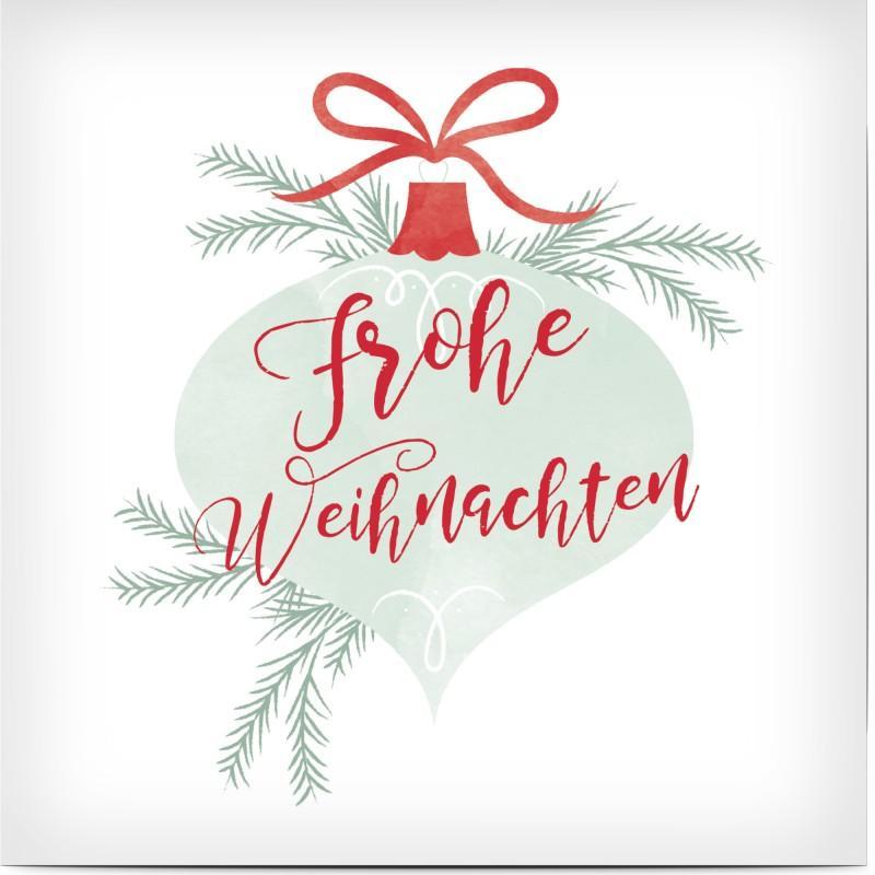 Vorlage Weihnachtskarten geschäftlich: Text