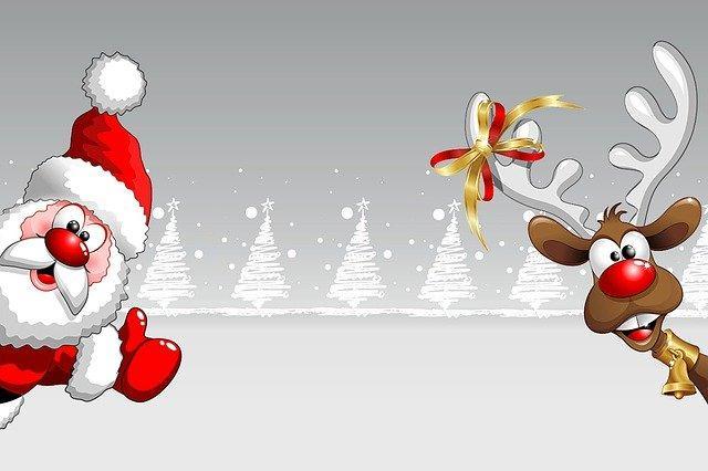 Weihnachtskarte geatalten