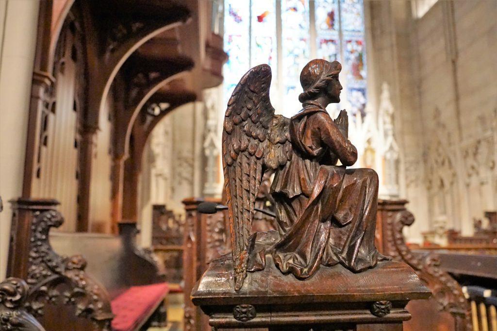 Taufpruch mit Engel
