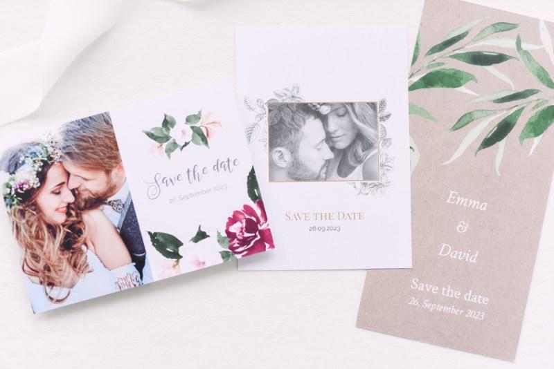 Save-the-Karten zur Hochzeit von Honeymoments