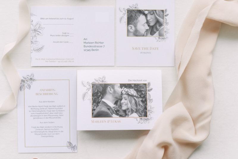 Text Einladung Hochzeit Fine Art